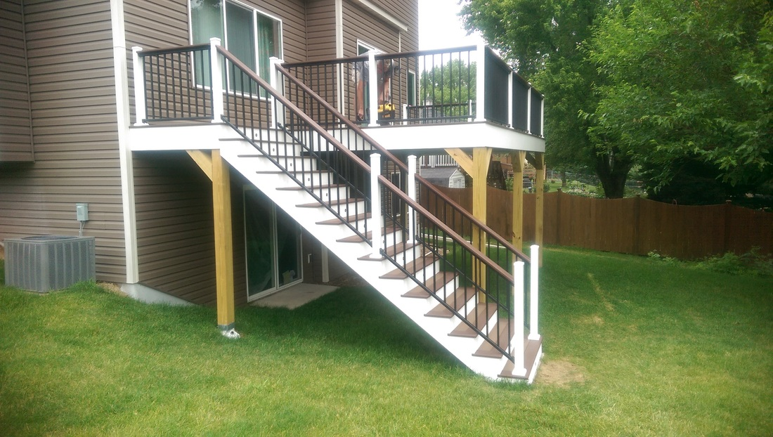 Weu0027ve Got Over 20 Years Of Experience Building Deck Staircases   Letu0027s Talk  About Your Ideal Deck And Stairs Combination, And Letu0027s Make It A Reality!